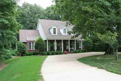 Dyersburg Single Family Home For Sale: 4150 Millsfield