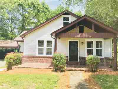 Weakley County Single Family Home For Sale: 218 Marshall