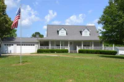 McNairy County Single Family Home For Sale: 76 Clarence Barham