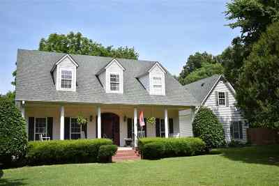 Dyersburg Single Family Home For Sale: 269 McCullough Chapel