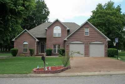 Dyersburg Single Family Home For Sale: 2395 Plantation