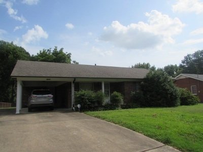 Dyersburg Single Family Home For Sale: 1001 Wren Street