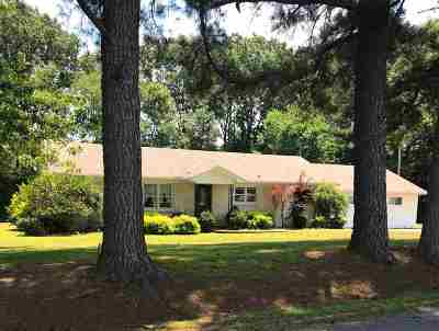 Weakley County Single Family Home For Sale: 1670 Tumbling Creek