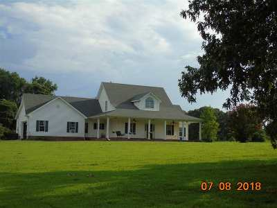 Tipton County Single Family Home For Sale: 263 Morris Rd
