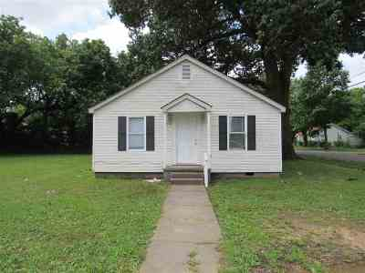 Gibson County Single Family Home For Sale: 1602 Elm