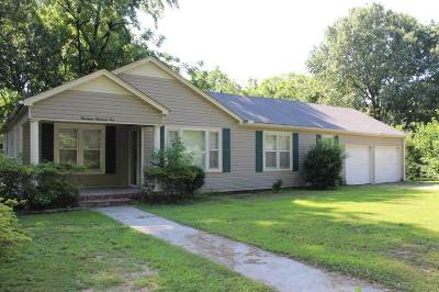 Dyersburg Single Family Home For Sale: 1410 Lovers