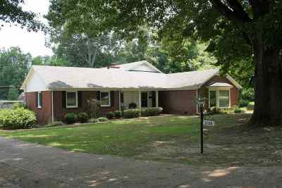 Dyersburg Single Family Home For Sale: 2108 Morning Rd.