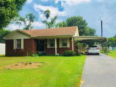 Dyersburg Single Family Home For Sale: 1117 Ridgeway