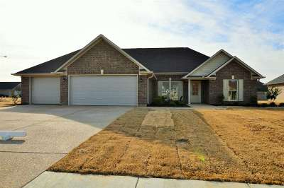 Gibson County Single Family Home For Sale: 404 Strawberry Ridge
