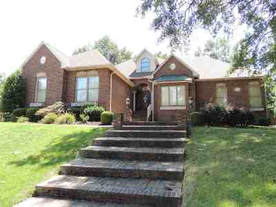 Dyersburg Single Family Home For Sale: 1255 Thorntree Dr