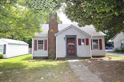 Gibson County Single Family Home For Sale: 1416 N 22nd