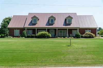 Crockett County Single Family Home For Sale: 1081 Egg Hill