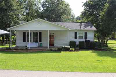 Crockett County Single Family Home For Sale: 4756 Rj Welch Rd