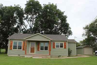 Crockett County Single Family Home For Sale: 1276 R. J. Welch Road