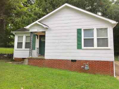 Dyersburg Single Family Home For Sale: 441 Bishop