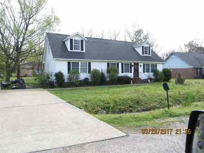 Tipton County Single Family Home For Sale: 1588 Andrew