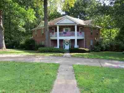 Dyersburg Single Family Home For Sale: 840 Oak Ridge