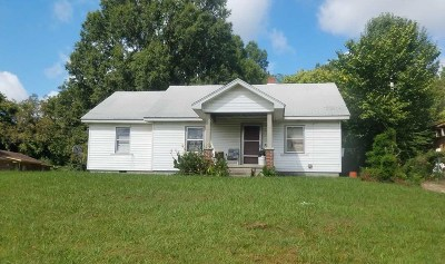Haywood County Single Family Home For Sale: 1049 N McLemore