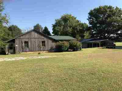 Crockett County Single Family Home For Sale: 36 Buddy Davis Loop
