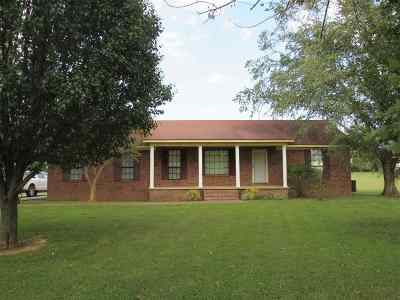 Crockett County Single Family Home For Sale: 5627 Emerson Road