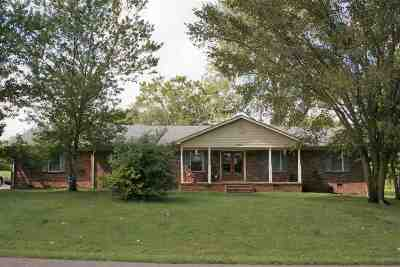 Dyersburg Single Family Home For Sale: 269 Gordon Road