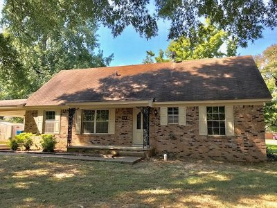 Gibson County Single Family Home For Sale: 1541 Woodhaven