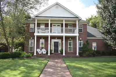 Dyersburg Single Family Home For Sale: 1575 Clubhouse