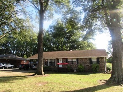Dyersburg Single Family Home Backup Offers Accepted: 2035 Crossgate Rd