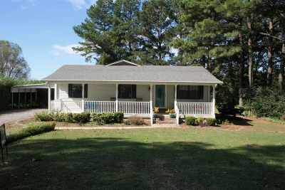 Dyersburg Single Family Home For Sale: 123 Fort Hudson Rd. Ext.
