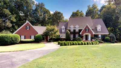 Jackon, Jackson, Jackson Tn, Jakcson Single Family Home For Sale: 21 Deepwood
