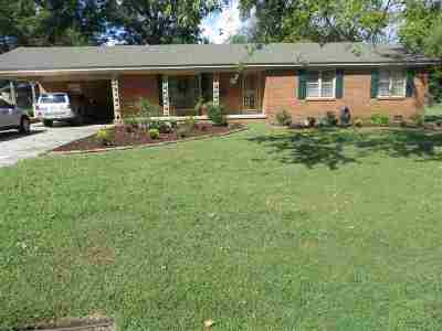 Hardeman County Single Family Home For Sale: 550 Janet