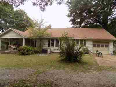 Dyersburg TN Single Family Home For Sale: $62,900