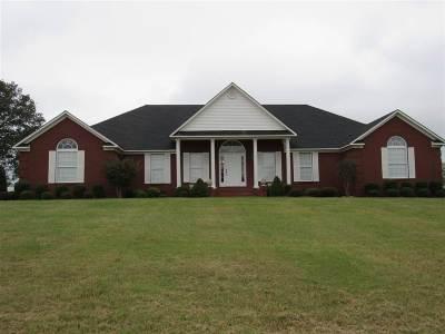 Crockett County Single Family Home For Sale: 2005 Friendship Eaton Road