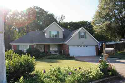 Dyersburg Single Family Home For Sale: 291 Auburn Avenue