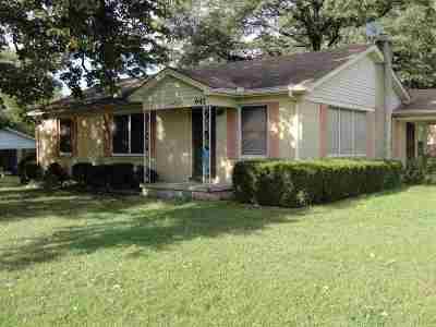 Trenton Single Family Home For Sale: 647 Faith