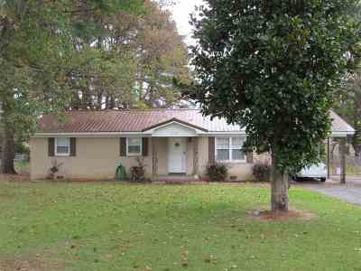 Crockett County Single Family Home For Sale: 256 Todd Levee
