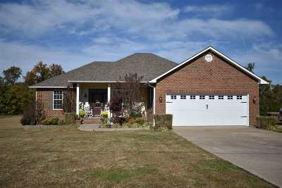 Dyersburg Single Family Home For Sale: 80 Hillside Cv