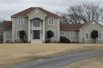 Lauderdale County Single Family Home For Sale: 1970 Dr Hall Rd