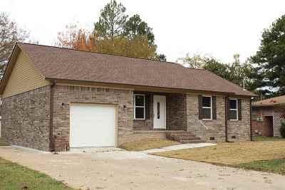 Dyersburg Single Family Home For Sale: 607 Martin Luther King
