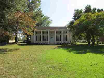Crockett County Single Family Home For Sale: 88 Cypress Road