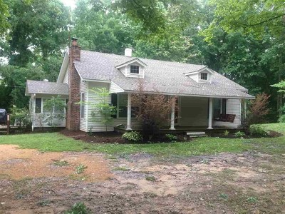Henderson County Single Family Home For Sale: 4040 Corinth Rd
