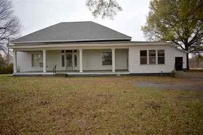 Trenton Single Family Home For Sale: 598 Dyersburg Hwy