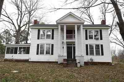 Crockett County Single Family Home For Sale: 290 N Depot St
