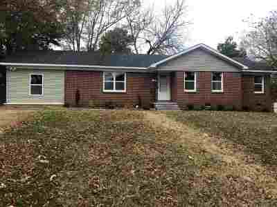 Gibson County Single Family Home For Sale: 2710 Vine