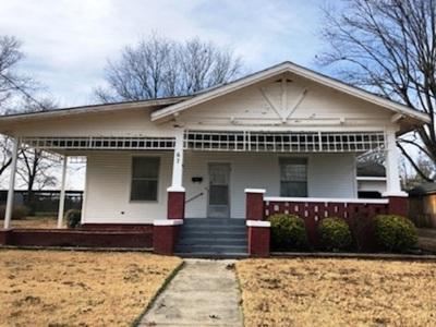 Crockett County Single Family Home For Sale: 67 N Burns Street