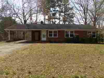 Gibson County Single Family Home For Sale: 2014 McKnight