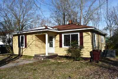 Gibson County Single Family Home For Sale: 2036 Carroll