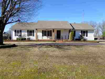 Milan TN Single Family Home For Sale: $178,000