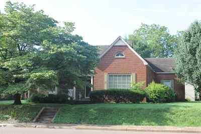 Lauderdale County Single Family Home For Sale: 601 W Tigrett