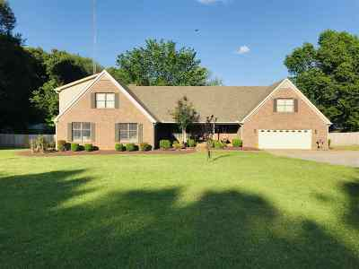 Milan Single Family Home For Sale: 128 Chapel Hill